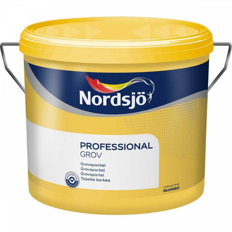 Nordsjö professional Grovspackel 10L