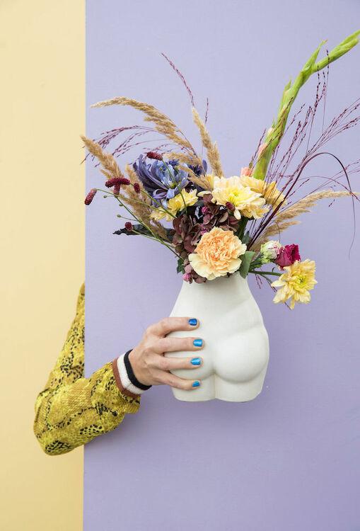Byon Vase nature beige
