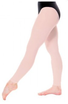Balettights utan fot - Balettrosa