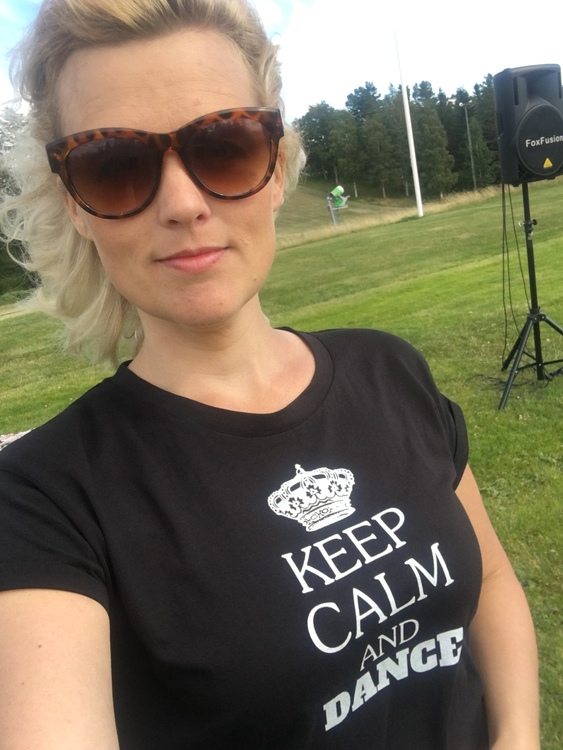 Tshirt Keep Calm and Dance