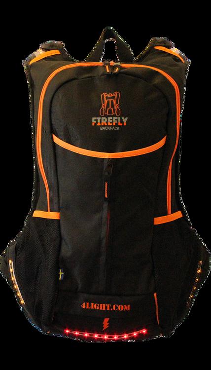 FireFly / Lysande Ryggsäck - Svart