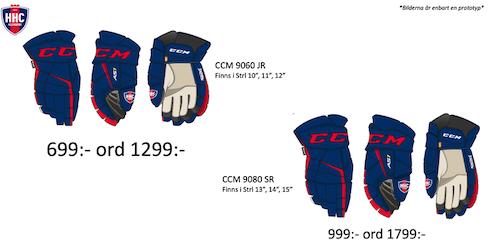 CCM 9080 Handske Helsingborgs Hockey Edition 2019