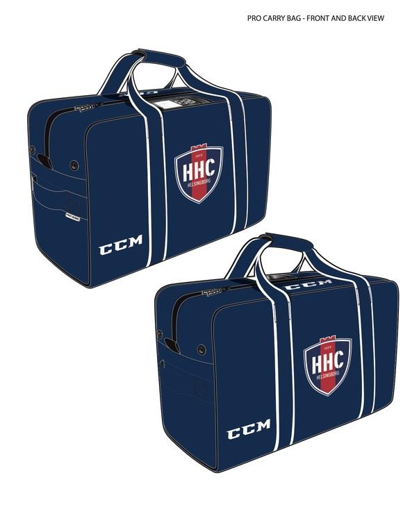 "Hockeybag CCM Pro Team Carry 32"" Helsingborgs Hockey Edition 2021"