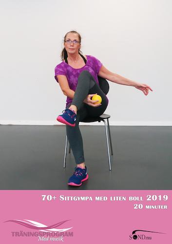 70+ Sittgympa med liten boll 2019