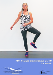 70+ Stående Balansträning 2019