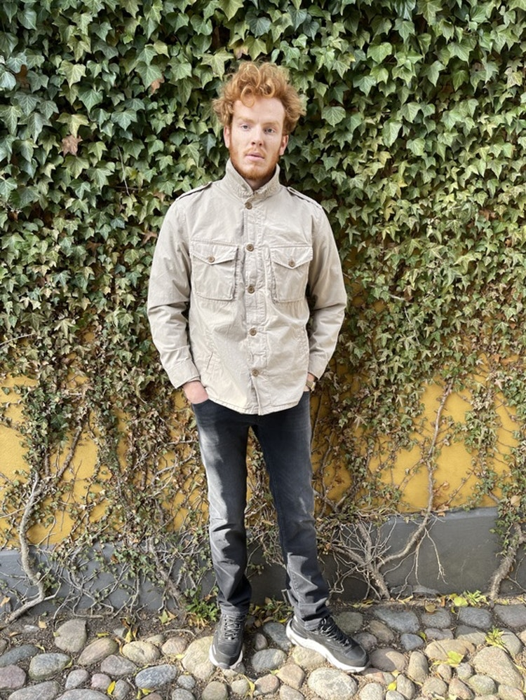 Hartford - Joshua military jacket - Khaki