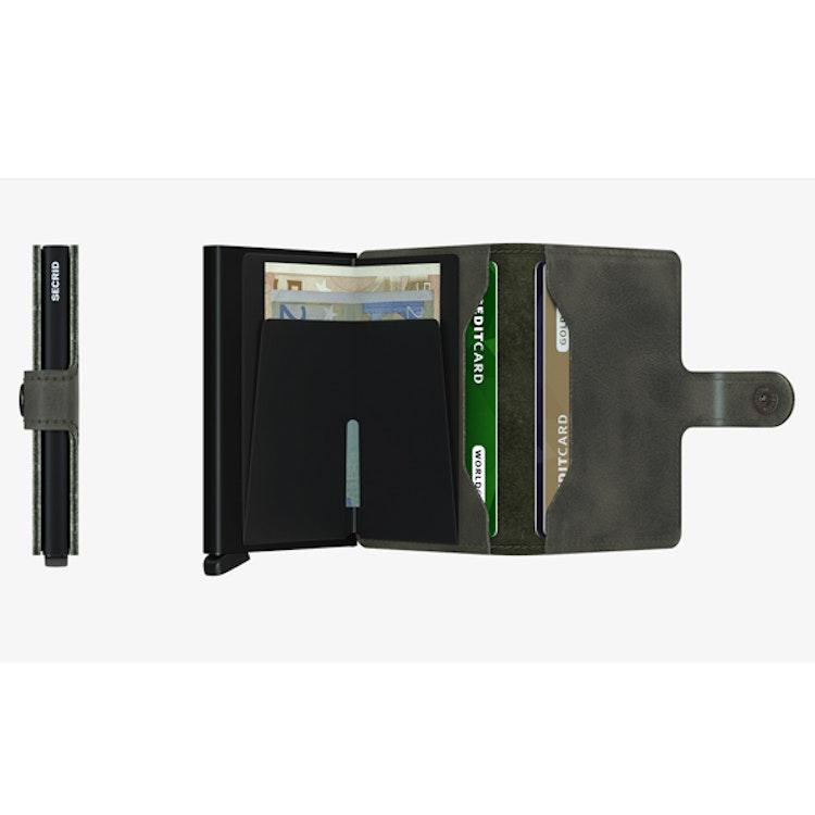 Secrid Miniwallet - Vintage Olive-Black