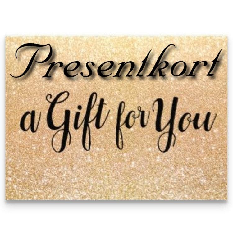 Presentkort 4000 kr