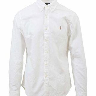 Ralph Lauren - Oxford Slim Fit Shirt - White - 900:-