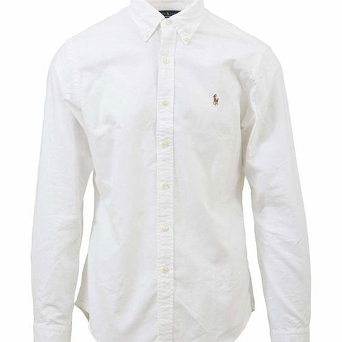 Ralph Lauren - Oxford Slim Fit Shirt - White - 900:-