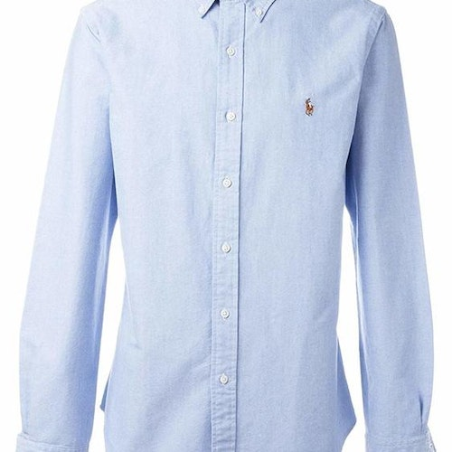 Ralph Lauren - Oxford Slim Fit Shirt - Blue - 1199:-