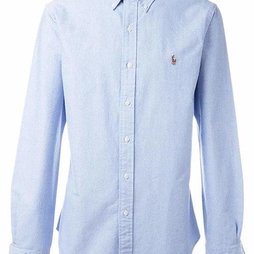 Ralph Lauren - Oxford Slim Fit Shirt - Blue - 900:-