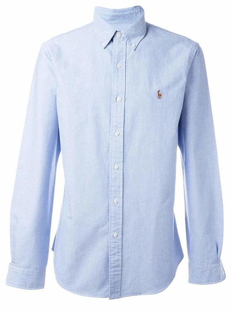 Ralph Lauren - Oxford Slim Fit Shirt - Blue - 1199:-