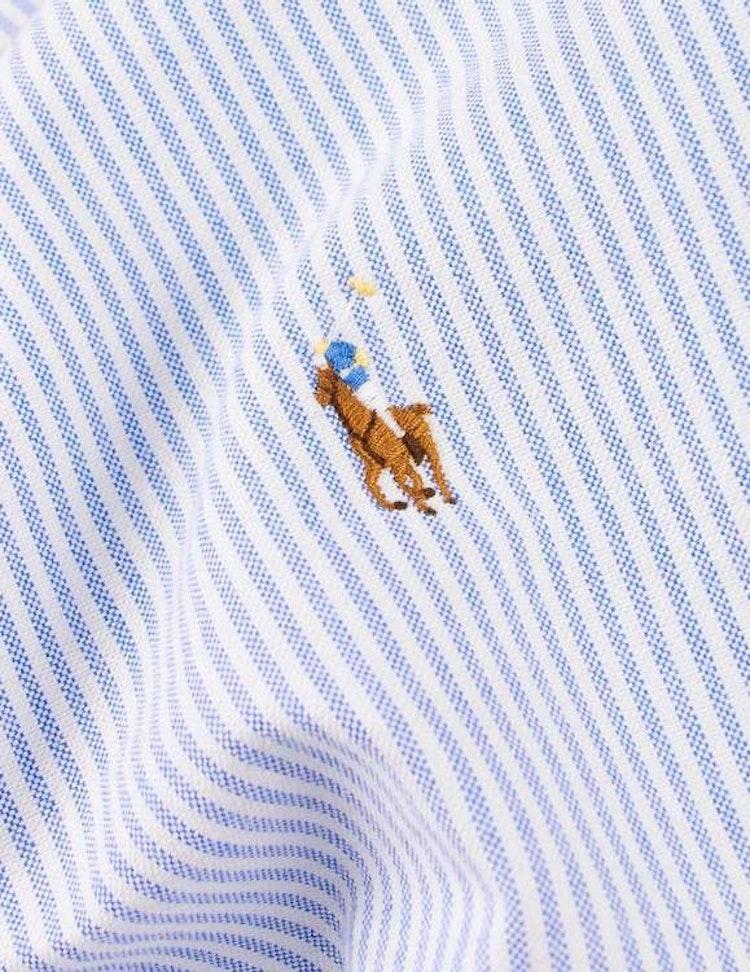 Ralph Lauren - Oxford Slim Fit Shirt - Blue/white - 1199:-