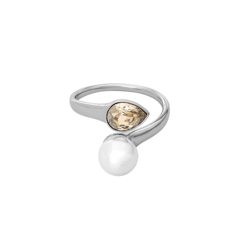 Lily and Rose - Ella pearl ring - Ivory