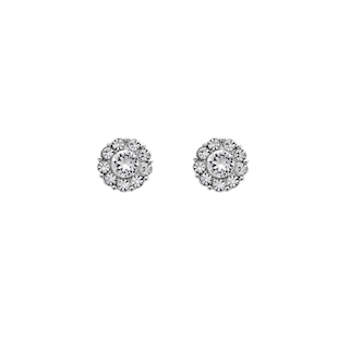 Lily ans Rose - Petite Miss Sofia Earrings - Crystal (Silver)