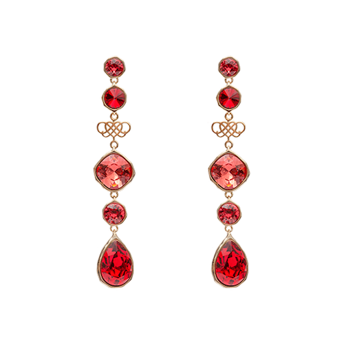 Lily and Rose - Lucy Earrings - Royal Love
