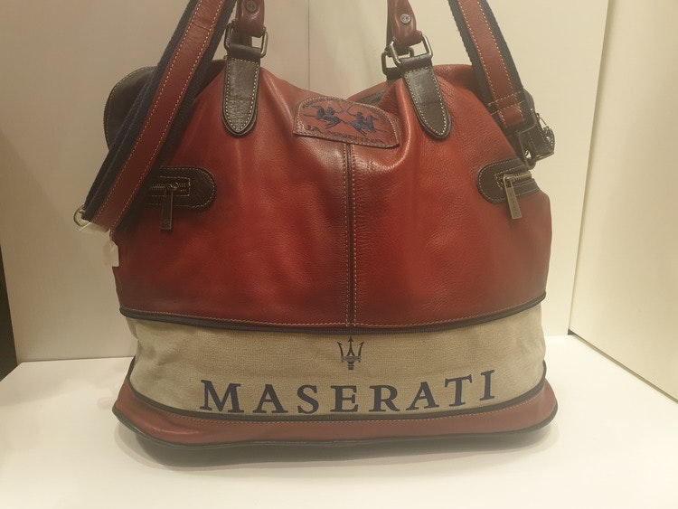 La Martina - Maserati Polo bag - Red / Navy