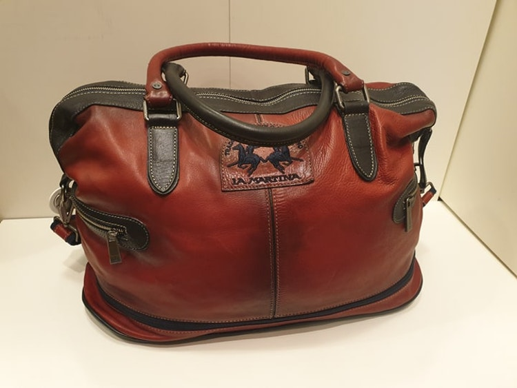 La Martina - Maserati Polo bag - Red / Navy