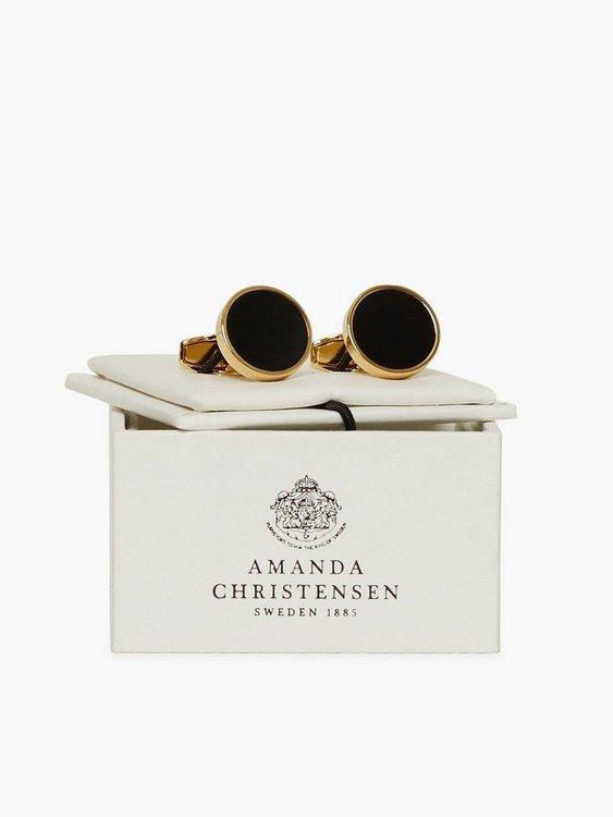 Amanda Christensen - Manschettknappar - Gold