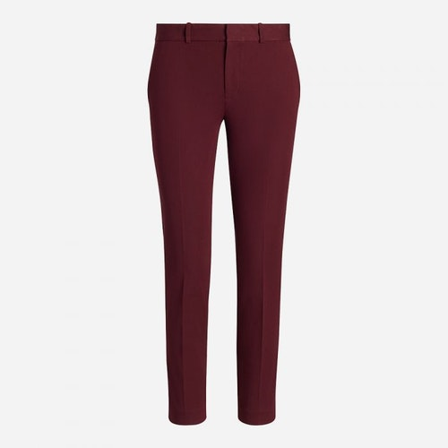 Polo Ralph Lauren - Cigarette byxa stretch - Ruby Red