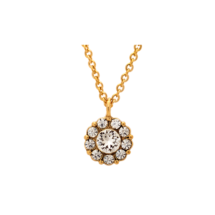 Lily and Rose - Petite Miss Sofia Necklace - Crystal Gold