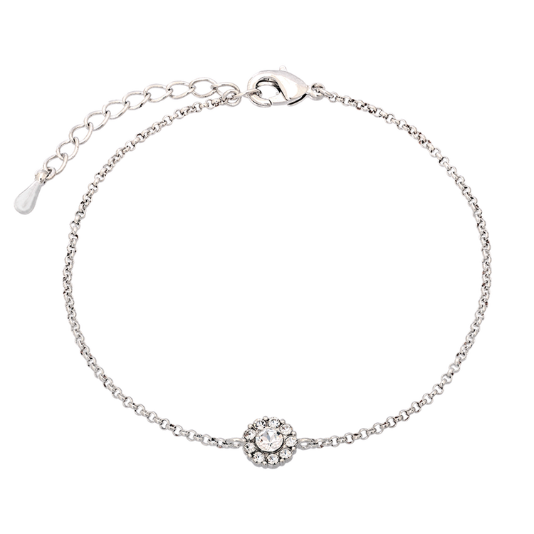 Lily and Rose - Petite Miss Sofia Bracelet - Crystal Silver