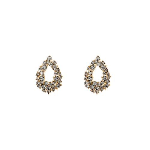 Lily and Rose - Petite Alice Earrings -Black diamond