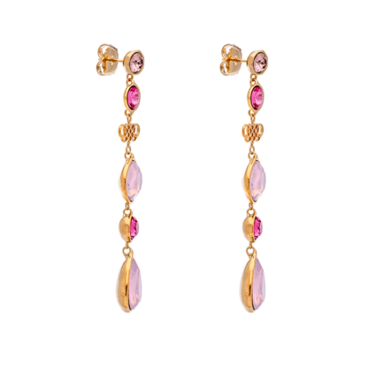 LUCY EARRINGS – ROSE