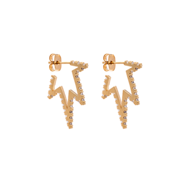 PETITE VEGA EARRINGS – CRYSTAL