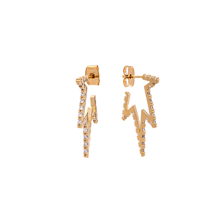 PETITE VEGA EARRINGS – CRYSTAL
