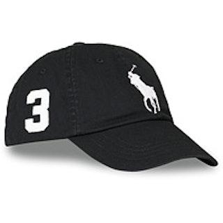 Polo Ralph Lauren Big Pony Cap RL Black