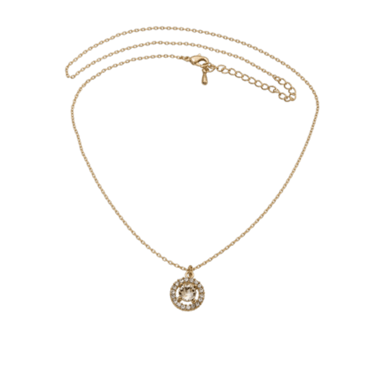 LILY AND ROSE - MISS MIRANDA NECKLACE – LIGHT SILK