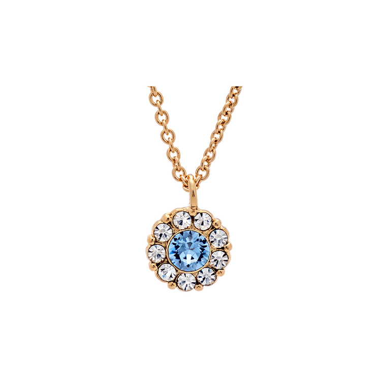 LILY AND ROSE - PETITE MISS SOFIA NECKLACE – LIGHT SAPPHIRE