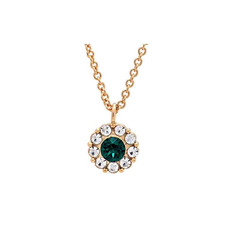 LILY AND ROSE - PETITE MISS SOFIA NECKLACE – EMERALD