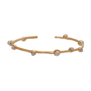 LILY AND ROSE - JAGGER PEARL BRACELET – IVORY (GOLD)