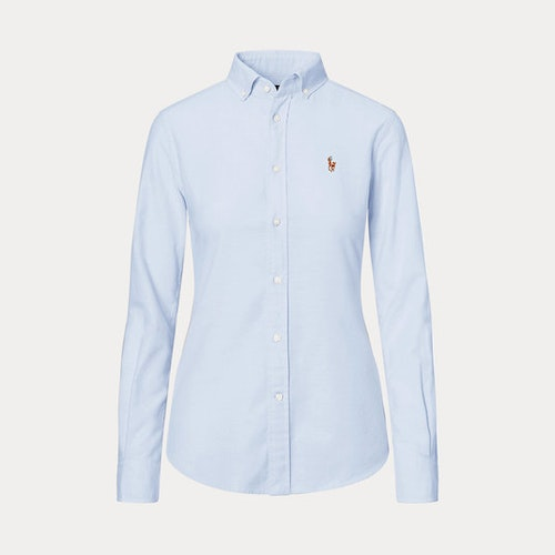 Ralph Lauren Classic fit Cotton Oxfordshirt Ljusblå 999kr