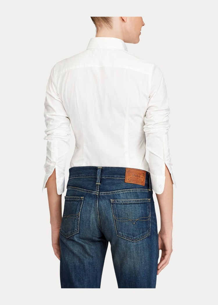 Ralph Lauren - Classic Fit Poplin Skjorta - White 999kr