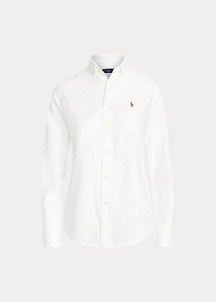 Ralph Lauren Classic fit Cotton Oxfordshirt  White 999kr