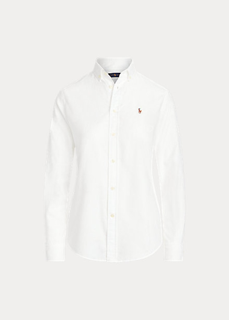 Ralph Lauren Classic fit Cotton Oxfordshirt  White 999kr