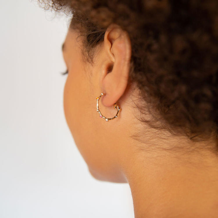 Petite Gaya earrings - Malawi