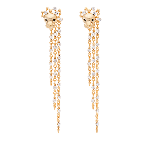 Lily and Rose - The Lion Queen earrings - Gold