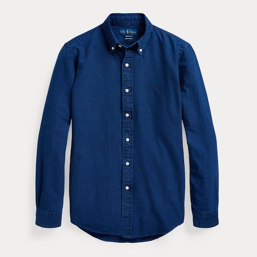 Ralph Lauren -Slim Fit Indigo Oxford Shirt 1399kr
