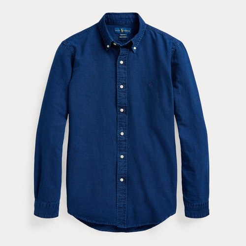 Polo Ralph Lauren - Custom Fit Indigo Oxford Shirt 1399kr