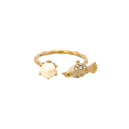 Eden peace ring - Gold - Lily and Rose