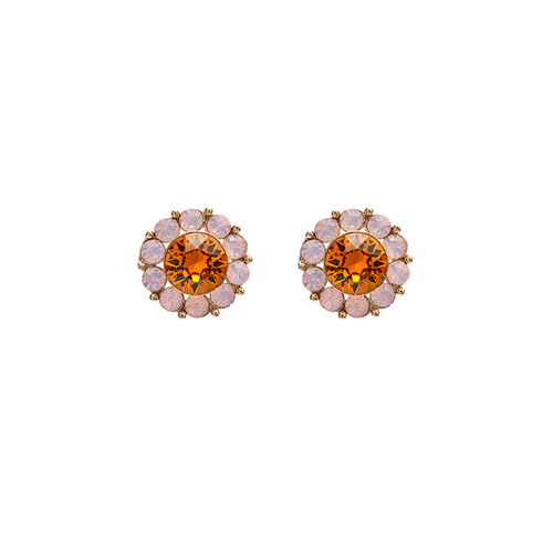 Lily and Rose - Miss Sofia earrings - Topaz rose