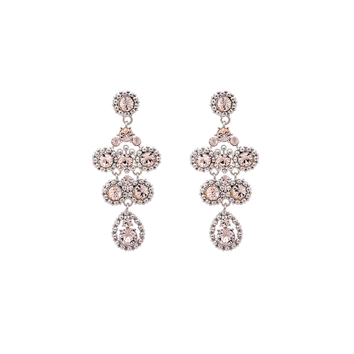Petite Kate earrings - Silk