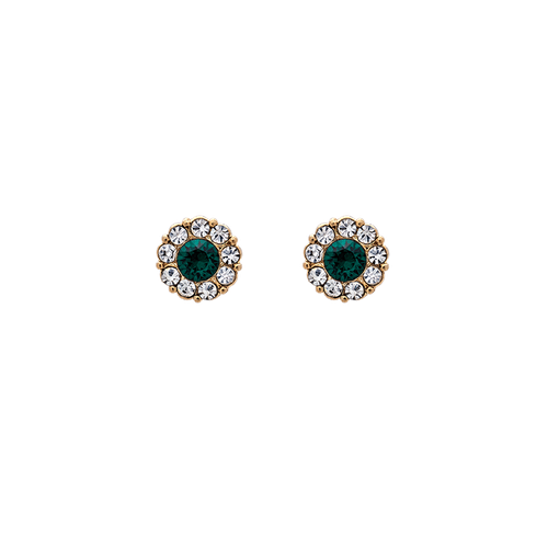 Petite miss Sofia earrings - Emerald