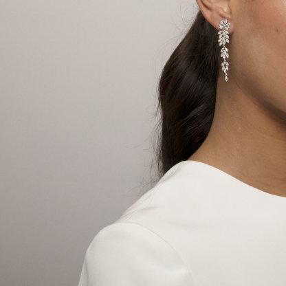 Lily and Rose - Petite Laurel earrings - Crystal
