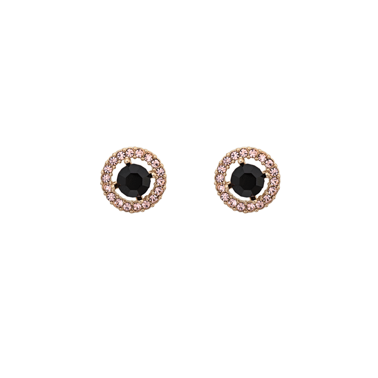 Lily and Rose - Miss Miranda earrings - Jet (Gold)